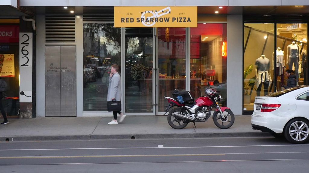 Red Sparrow Pizza - Chapel St - Messy Veggies