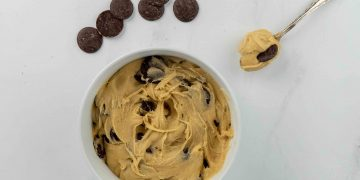 Simple Vegan Cookie dough