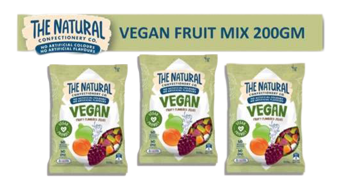 Natural Confectionery Co. Vegan Fruit Mix